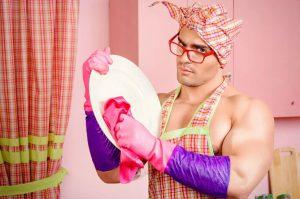 Слушаюсь и повинуюсь. Я  мужчина — домработница. Делаю Реверанс, а то обещают уволить.